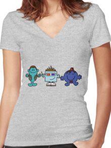 Mr Doctor Women's Fitted V-Neck T-Shirt
