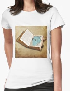 pocket pool Womens Fitted T-Shirt