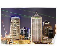 Brisbane Laser Light Show Poster