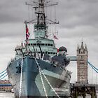 HMS Belfast mk2 by Peter Ellison