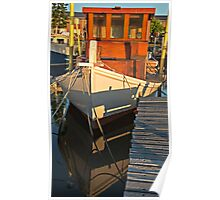 Wooden Fishing Boat Poster