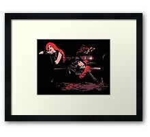 Lounge Act - Gothic Comic Style Art Framed Print