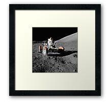 Moon Buggy!  Apollo 17 Lunar Rover Framed Print
