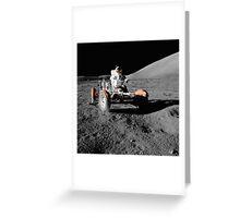 Moon Buggy!  Apollo 17 Lunar Rover Greeting Card
