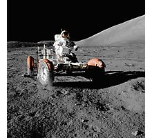 Moon Buggy!  Apollo 17 Lunar Rover Photographic Print