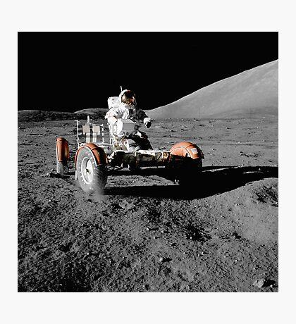 Moon Buggy!  Apollo 17 Lunar Rover Photographic Print