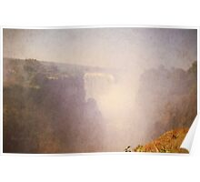 Zimbabwe. Victoria Falls. Poster