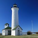 TIBBETT&#x27;S POINT LIGHTHOUSE by Lori Deiter