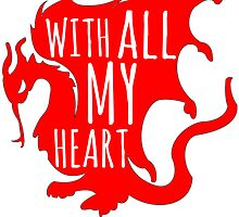 Merlin With All My Heart Dragon by WithAllMyHeart