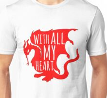 Merlin With All My Heart Dragon Unisex T-Shirt