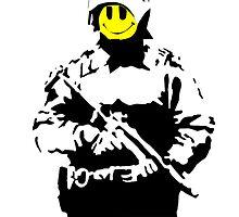 Smiley Face Policeman by LondonFreshTees