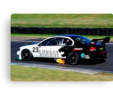 Justin Garioch | Shannons Nationals R1 | 2013 Canvas Print
