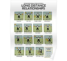 Long Distance Relationships poster - Successful Poster
