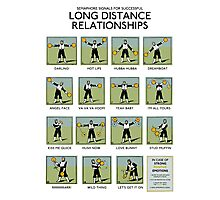 Long Distance Relationships poster - Successful Photographic Print
