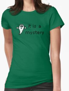 It Is A Mystery Womens Fitted T-Shirt