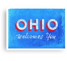 OHIO Welcomes You Canvas Print