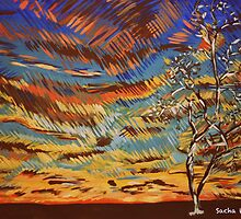 Tree In Colour by Sacha Whitehead
