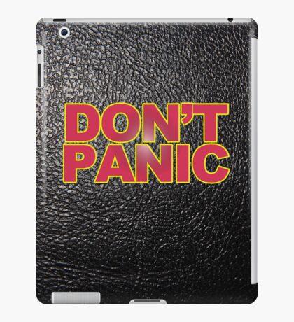 Don't Panic! iPad Case/Skin
