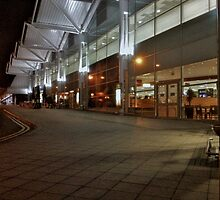 Airport at night 2 by gazzman1