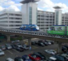 Airport mono-rail by gazzman1