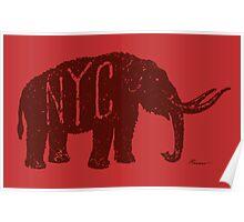 Mastodon NYC Poster