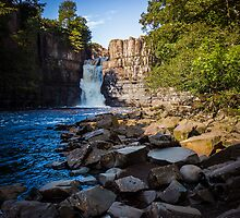 High Force Waterfall by Angie Morton