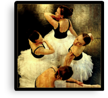 An elegant quartet Canvas Print