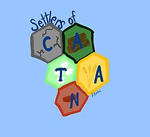 Settlers of Catan: 5 Resources by gahleck