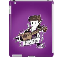 Roll to Play Music or Tell Jokes iPad Case/Skin