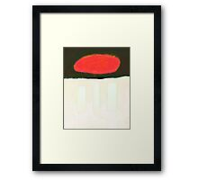 Life is what distracts you Framed Print