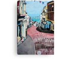 Lyme Regis - during Lifeboat Week Canvas Print