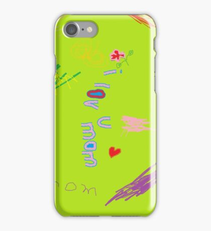 I love my mom case for iPhone/iPod iPhone Case/Skin