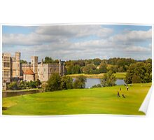 Leeds Castle Golf 2 Poster