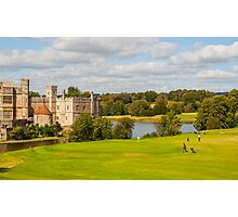 Leeds Castle Golf 2 Photographic Print