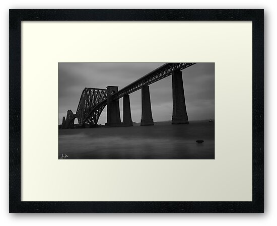 A very cold day at the Forth Rail Bridge, Edinburgh by Sue Fallon Photography
