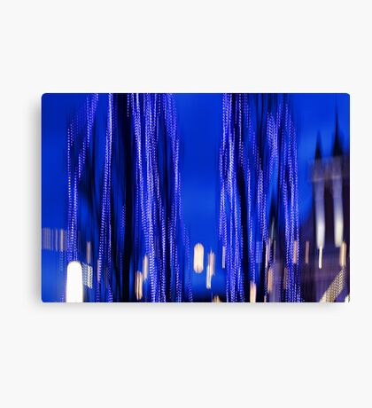 Blue Wraith Canvas Print