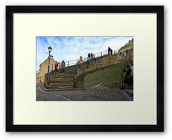 Stairs to the Abbey by John (Mike)  Dobson