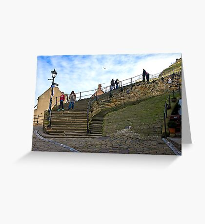 Stairs to the Abbey Greeting Card