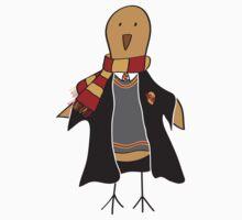 Bird goes to Hogwarts Kids Tee
