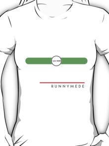 Runnymede station T-Shirt