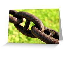 Chain Greeting Card