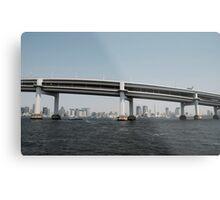 Tokyo Bridge Metal Print
