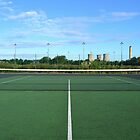 Ladygrove Tennis court... by SLoD