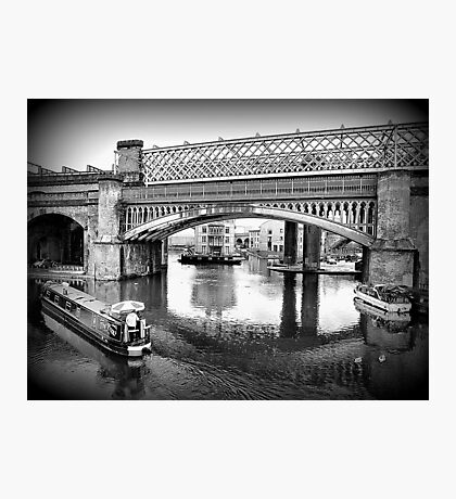 Castlefield Railway Viaduct. Photographic Print