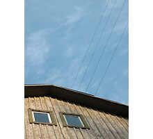 Old Latvian Building Photographic Print