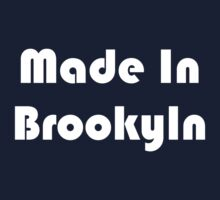 Simon's Made in Brooklyn Tee (white) by TMIcommittee