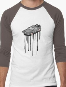 Delorean Drip Men's Baseball ¾ T-Shirt