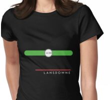Lansdowne station Womens Fitted T-Shirt