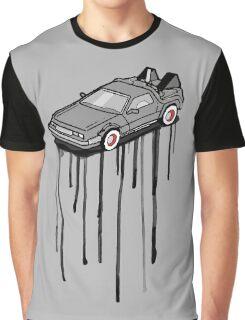 Delorean Drip Graphic T-Shirt