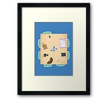 Group Study Room F Framed Print